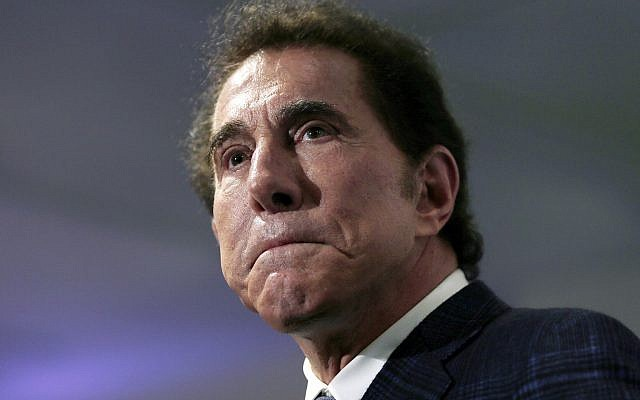 This March 15, 2016, file photo shows casino mogul Steve Wynn at a news conference in Medford, Massachusetts. (AP Photo/Charles Krupa, File)