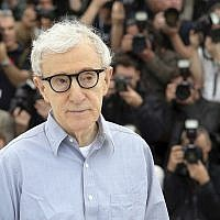 Director Woody Allen poses for photographers during a photo call for the film Cafe Society, at the 69th international film festival, Cannes, southern France, May 11, 2016. (AP Photo/Thibault Camus)