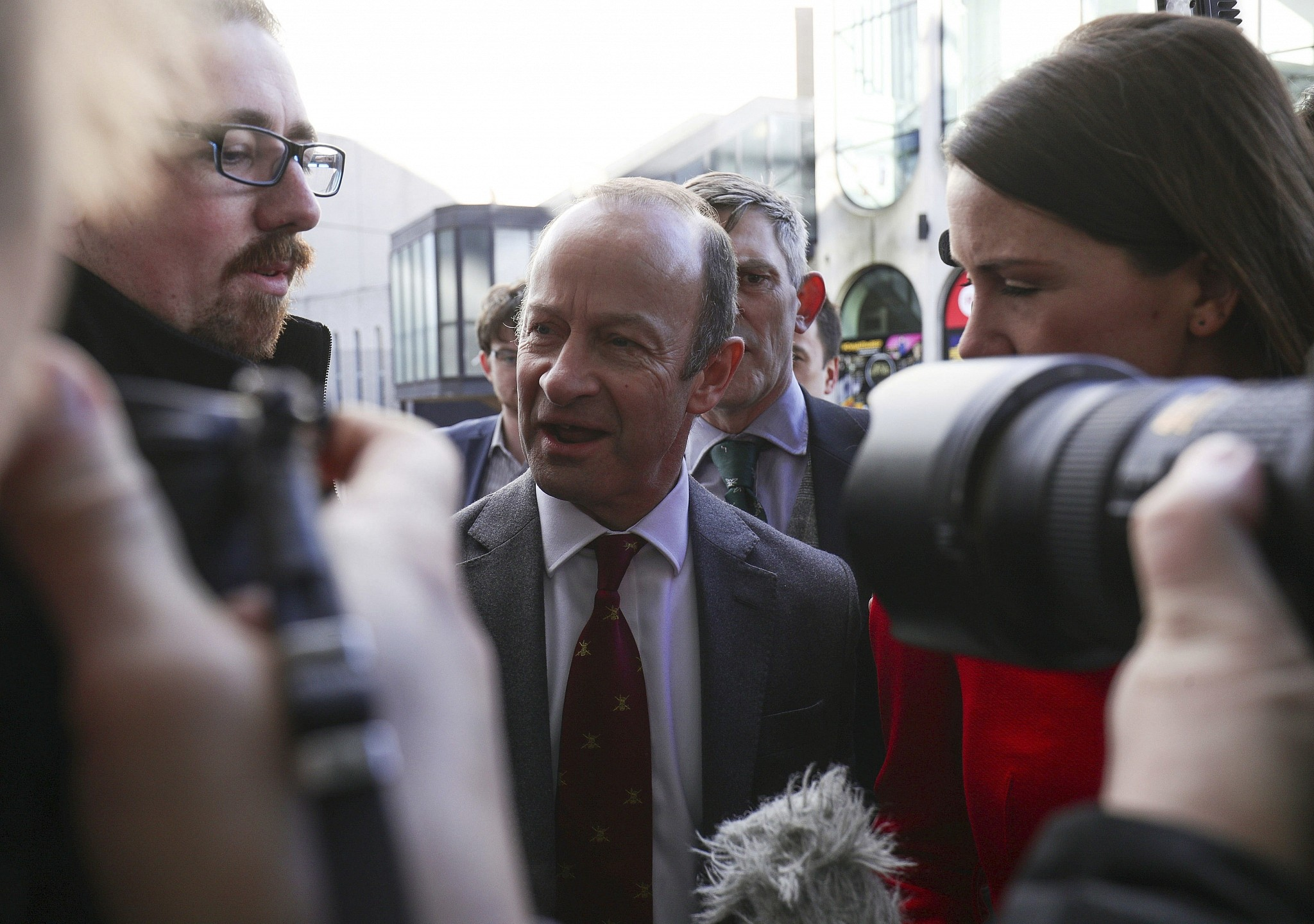 British euroskeptic party UKIP removes leader Henry Bolton