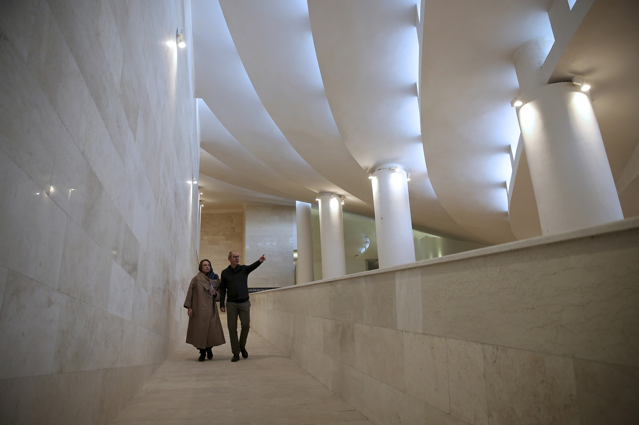 Avantgarde mosque angers hardliners in Iran The Times of Israel