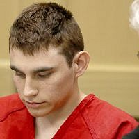 Nikolas Cruz appears in court for a status hearing before Broward Circuit Judge Elizabeth Scherer in Fort Lauderdale, Florida, on February 19, 2018. (Mike Stocker/South Florida Sun-Sentinel via AP, Pool)