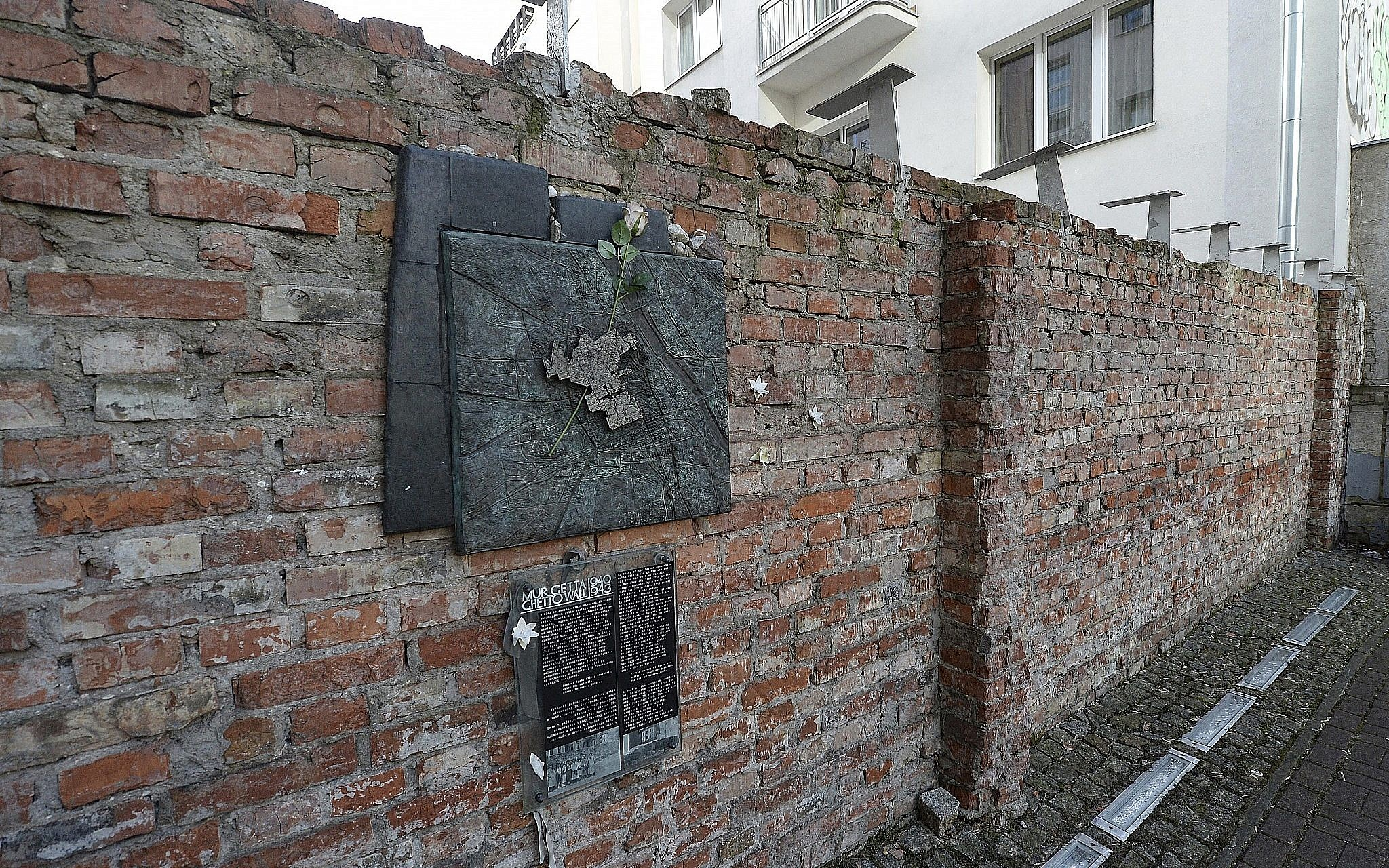 parts of warsaw ghetto wall to become historic monuments the times