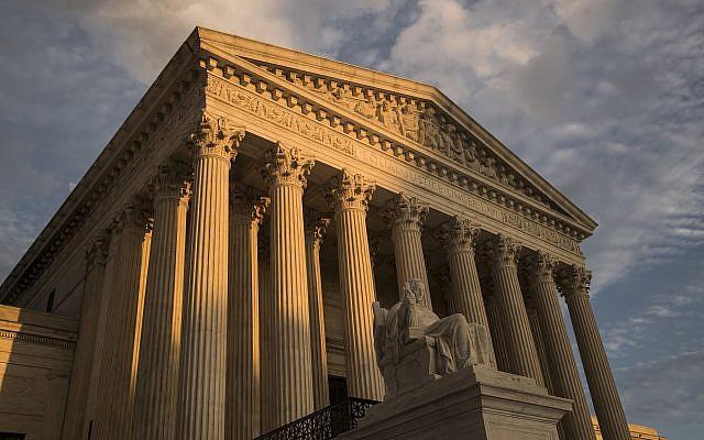 The US Supreme Court in Washington, October 10, 2017. (AP Photo/J. Scott Applewhite, File)