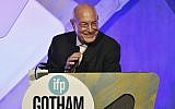 Producer Arnon Milchan accepts the Film Tribute Award at the 26th Annual Gotham Independent Film Awards at Cipriani Wall Street, November 28, 2016, in New York. (Evan Agostini/Invision/AP)