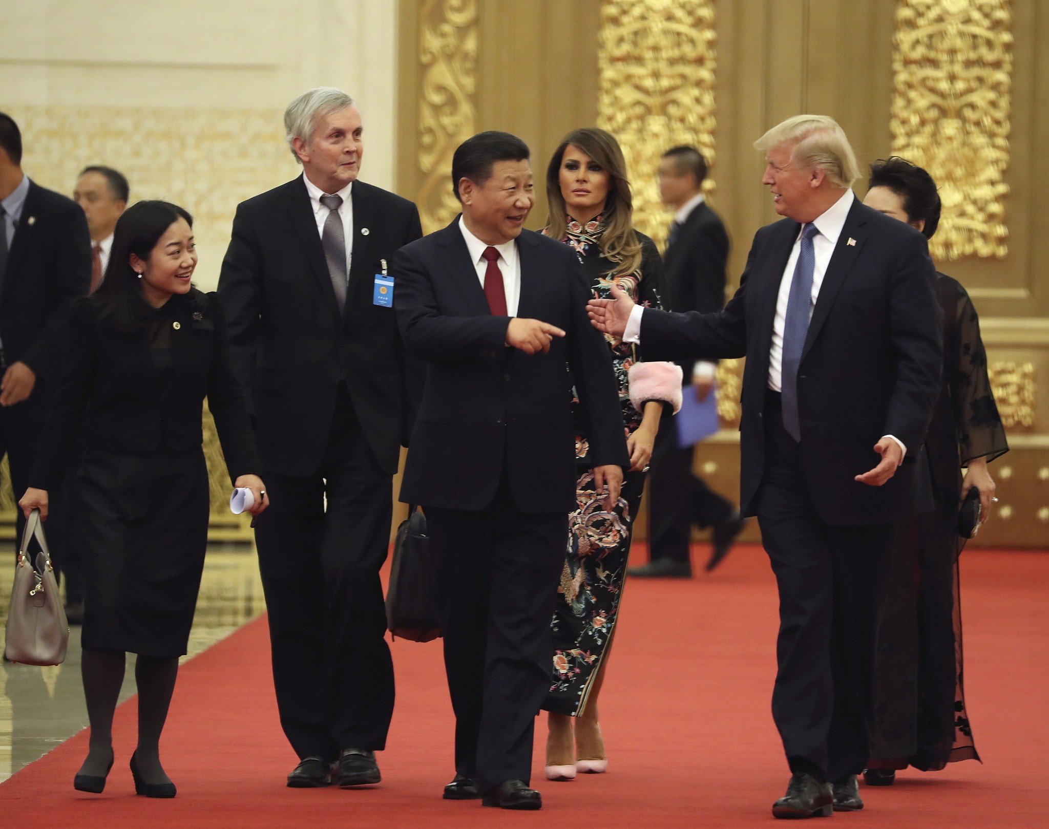 U.S. and Chinese officials 'scuffled over nuclear football' during Trump Beijing visit