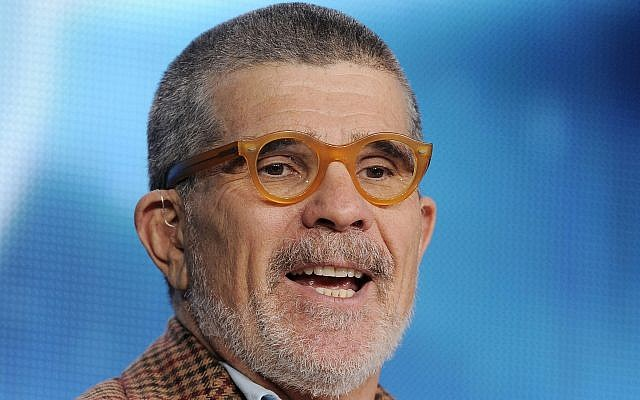 David Mamet addresses reporters during the HBO Winter TCA Press Tour in Pasadena, California, January 4, 2013 (Chris Pizzello/Invision/AP, File)