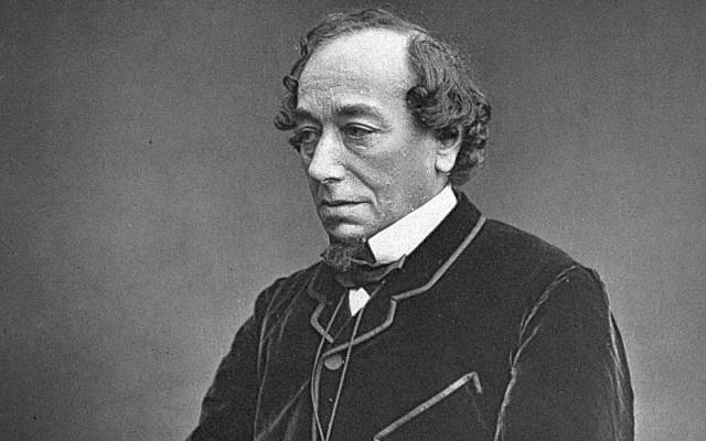 Britain's first and only Jewish prime minister Benjamin Disraeli, circa 1878. (Public domain)