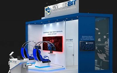 The Cyberbit Cyber-Security simulation range (Courtesy Cyberbit)