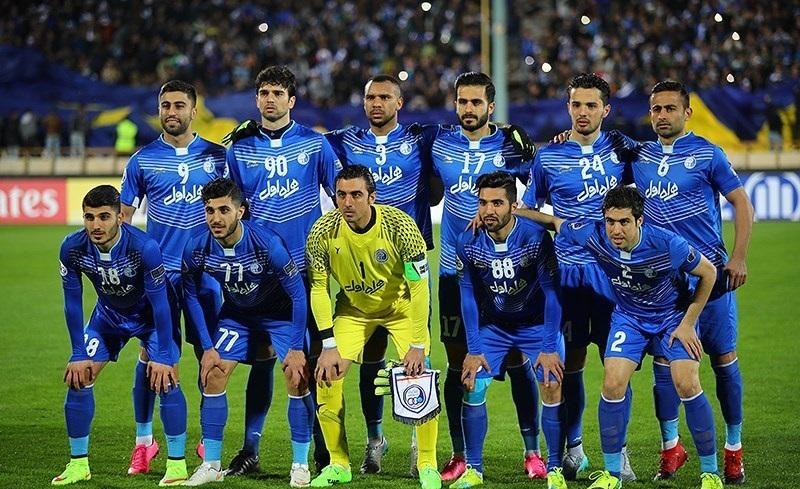 25cb1c71b5b File  Iran s Esteghlal Football Club players in the 2016-2017 season.  (Tasnim