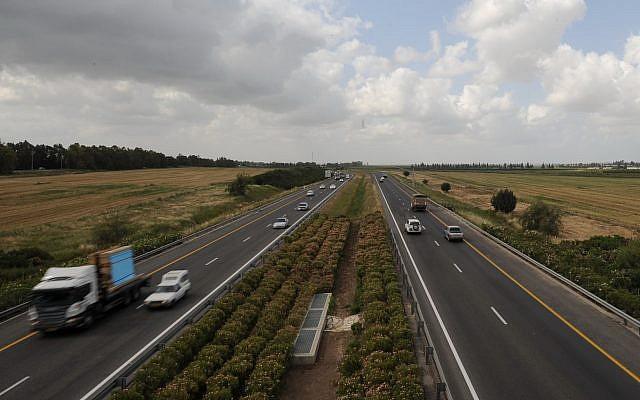 The Route 6 highway, file (GILI YAARI / FLASH 90)