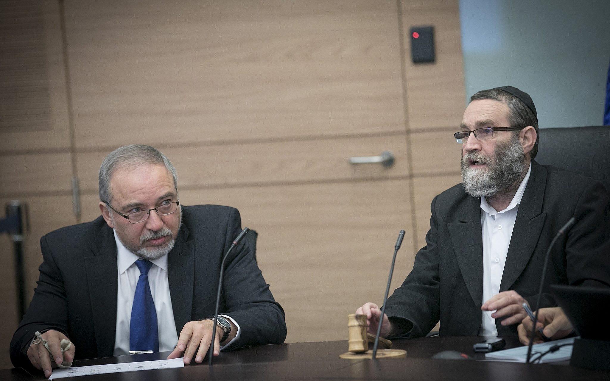 Vote on military draft bills delayed, prompting Haredi