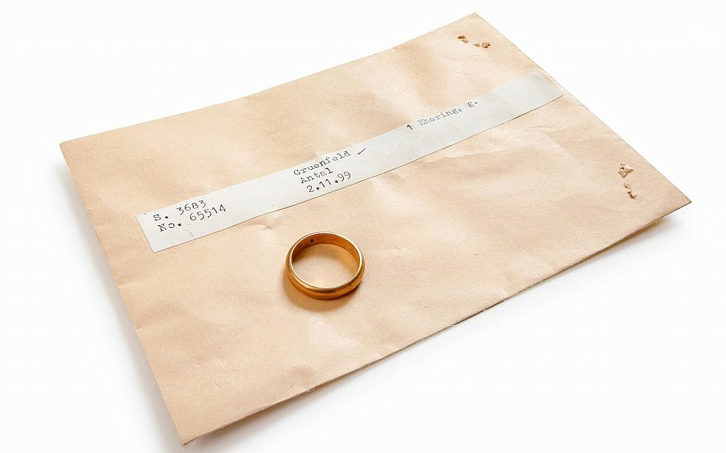 ITS seeks to return Holocaust victim Antal Grunfeld's wedding ring to his family through its #StolenMemory campaign. (Cornelis Gollhardt/ITS)