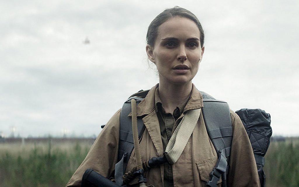 Natalie Portman in 'Annihilation.' (Paramount Pictures)