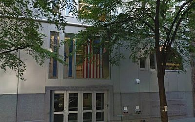 A view of the Ramaz school in New York. (Google Street View via JTA)