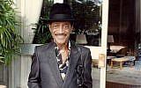 Sammy Davis Jr. shortly before his death in 1989. (Alan Light)
