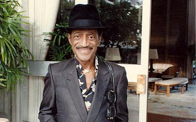 Sammy Davis Jr. shortly before his death in 1989. (Alan Light)