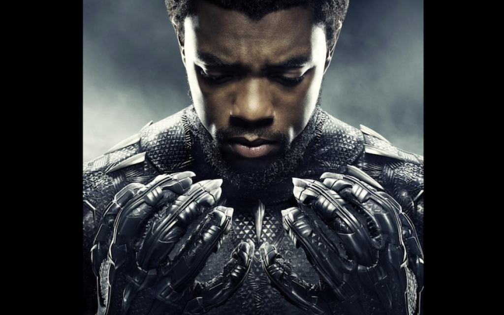 "A promotional image for the ""Black Panther"" film. (Chadwick Boseman/Facebook)"