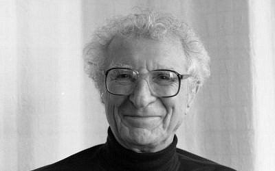 'Fiddler on the Roof' lyricist Sheldon Harnick. (Courtesy)