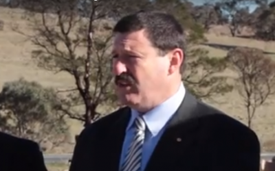 Mike Kelly, an Australian federal lawmaker of the Labor party. (Screenshot: YouTube)