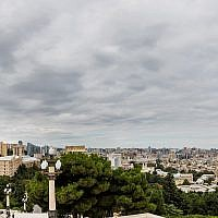 Baku, the capital of Azerbaijan (CC BY-SA Diego Delso/Wikipedia)