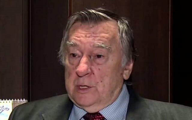 Alexander Prokhanov. (YouTube screenshot)