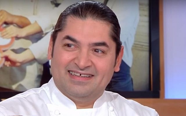 Lebanese chef Alan Geaam, who began life in Paris sleeping on the streets and who taught himself to cook, won a Michelin star for his restaurant near the Arc de Triomphe. (YouTube screenshot)