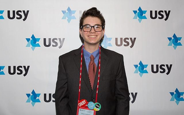 Sawyer Goldsmith is the religion/education vice president for the international board of USY (Courtesy of USY)