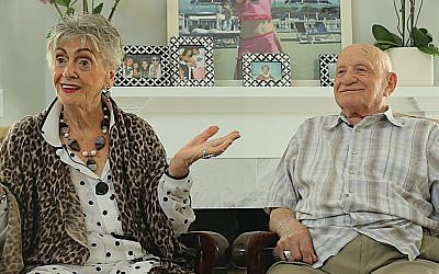 Ruth and Roman Blank in the film 'On My Way Out.' (Youtube Screenshot)