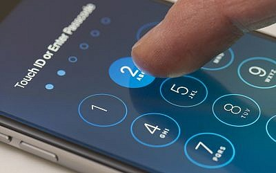 Illustrative image of passcode screen of an iPhone. (ymgerman/iStock by Getty Images)