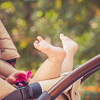 Illustrative image of baby in a stroller. (vitaliksun/iStock by Getty Images)