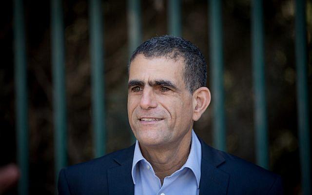 Meretz lawmaker Mossi Raz, pictured at the Knesset in Jerusalem on October 23, 2017. (Yonatan Sindel/Flash90)