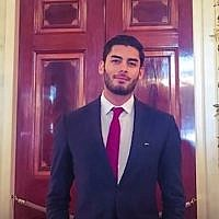 An undated picture of Ammar Campa-Najjar a Democratic candidate for 50th congressional district. (screen capture: Facebook)