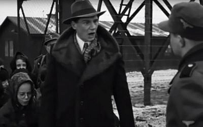 "A scene from ""Schindler's List"" that Eva Lavi says is mostly accurate: Nazis separated her from her mother, but Schindler saved her by telling the guards he needed her small fingers to operate machinery. (YouTube screenshot)"