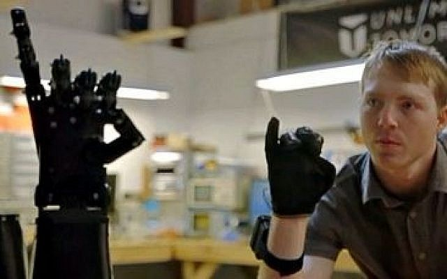 Innovator Easton LaChappelle aligns with Stratasys as exclusive 3D printing provider for Unlimited Tomorrow – delivering a new age of custom-designed 3D printed prosthetic arms (Courtesy Unlimited Tomorrow)