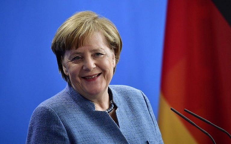 Angela Merkel Elected For 4th Term As German Chancellor The Times Of Israel