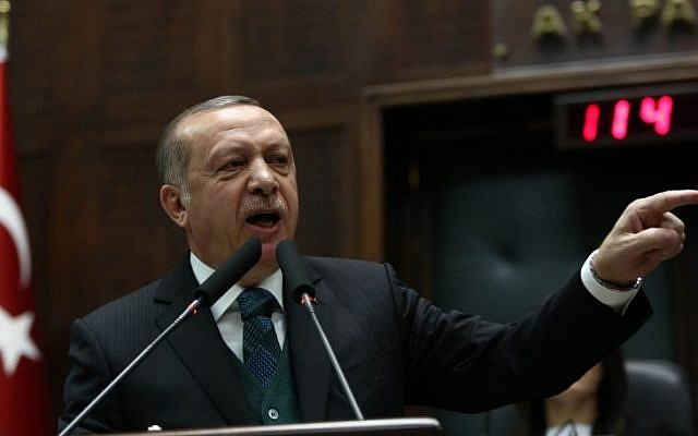 Erdan: Erdogan an anti-Semite