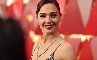 Gal Gdot attends the 90th Annual Academy Awards at Hollywood & Highland Center on March 4, 2018 in Hollywood, California. (Christopher Polk/Getty Images/AFP)