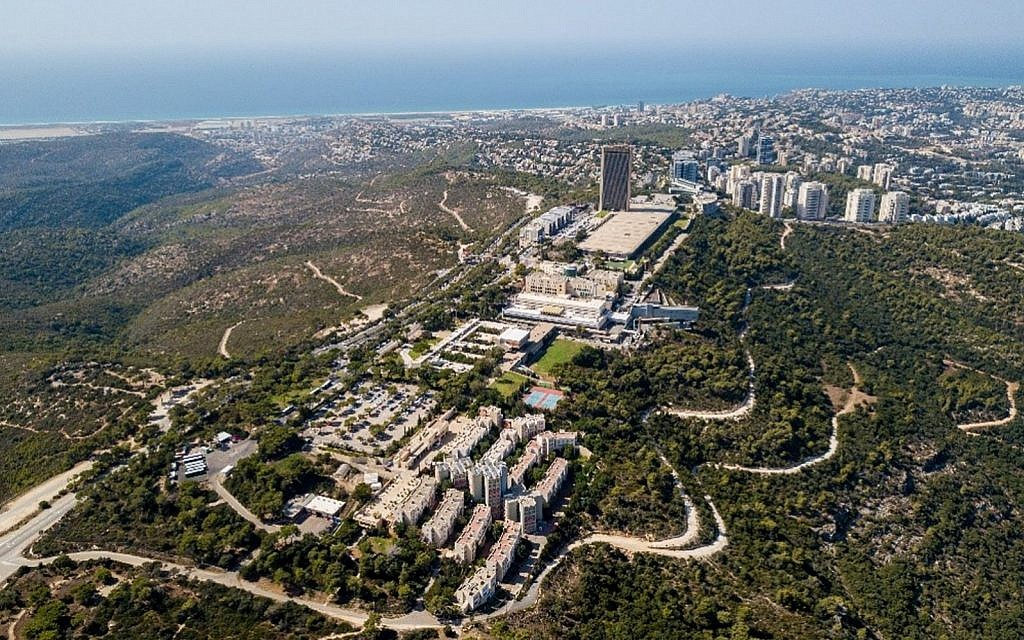 University campus on top of Mount Carmel