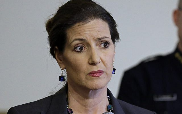 In this May 13, 2016 file photo, Oakland Mayor Libby Schaaf speaks at a news conference in Oakland, California. (AP Photo/Ben Margot, File)
