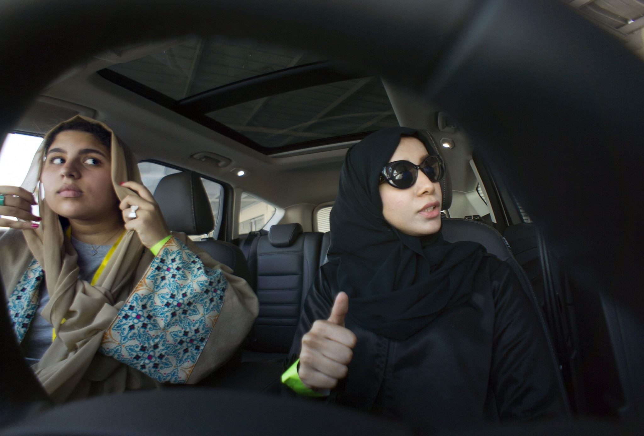 Saudi Women Take The Wheel Test Driving A New Freedom The Times