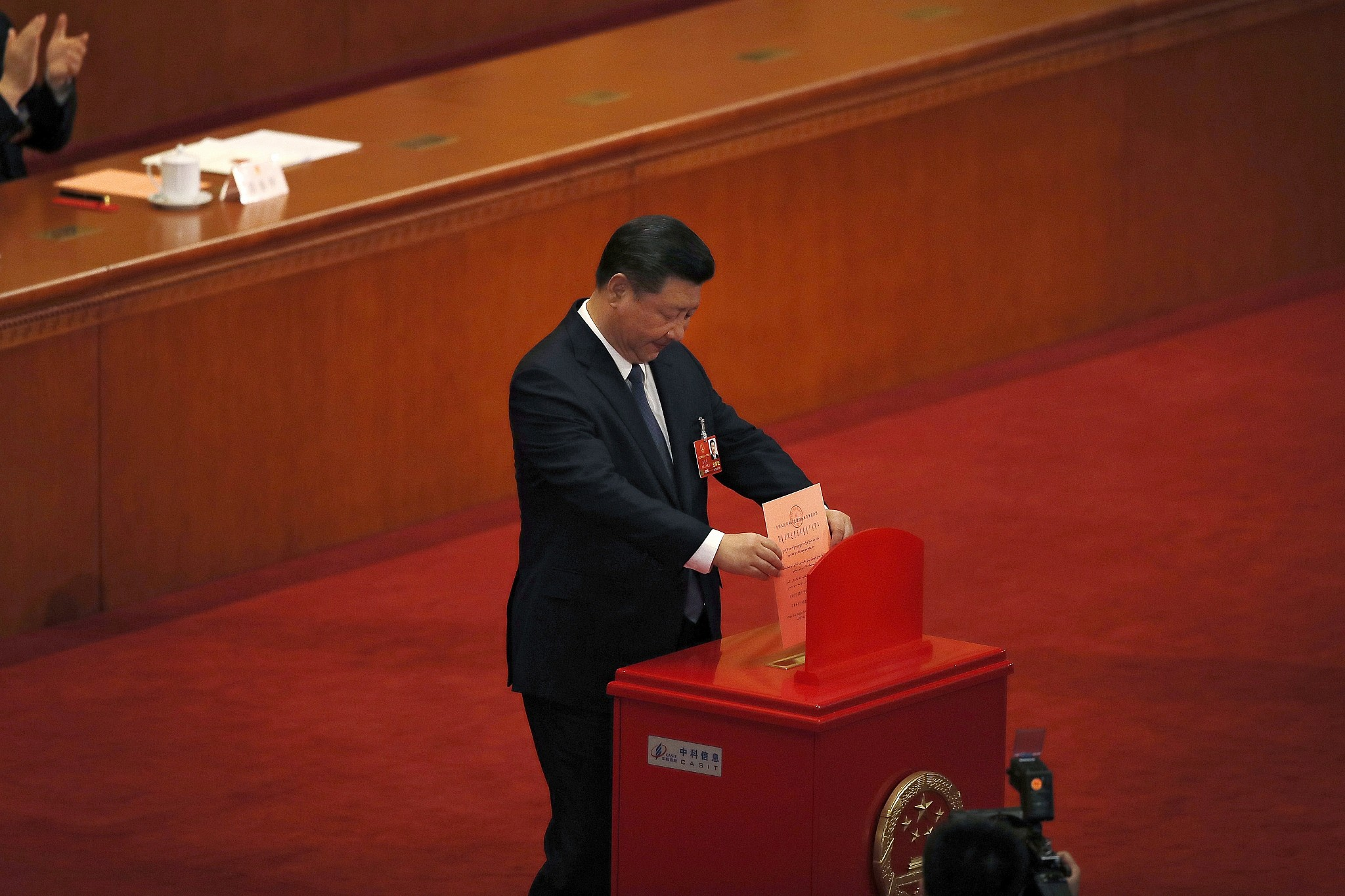Historic Vote In China Will Let President Rule For Life The Times