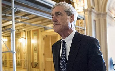 Special counsel Robert Mueller departs after a meeting on Capitol Hill in Washington, June 21, 2017. (AP Photo/J. Scott Applewhite)