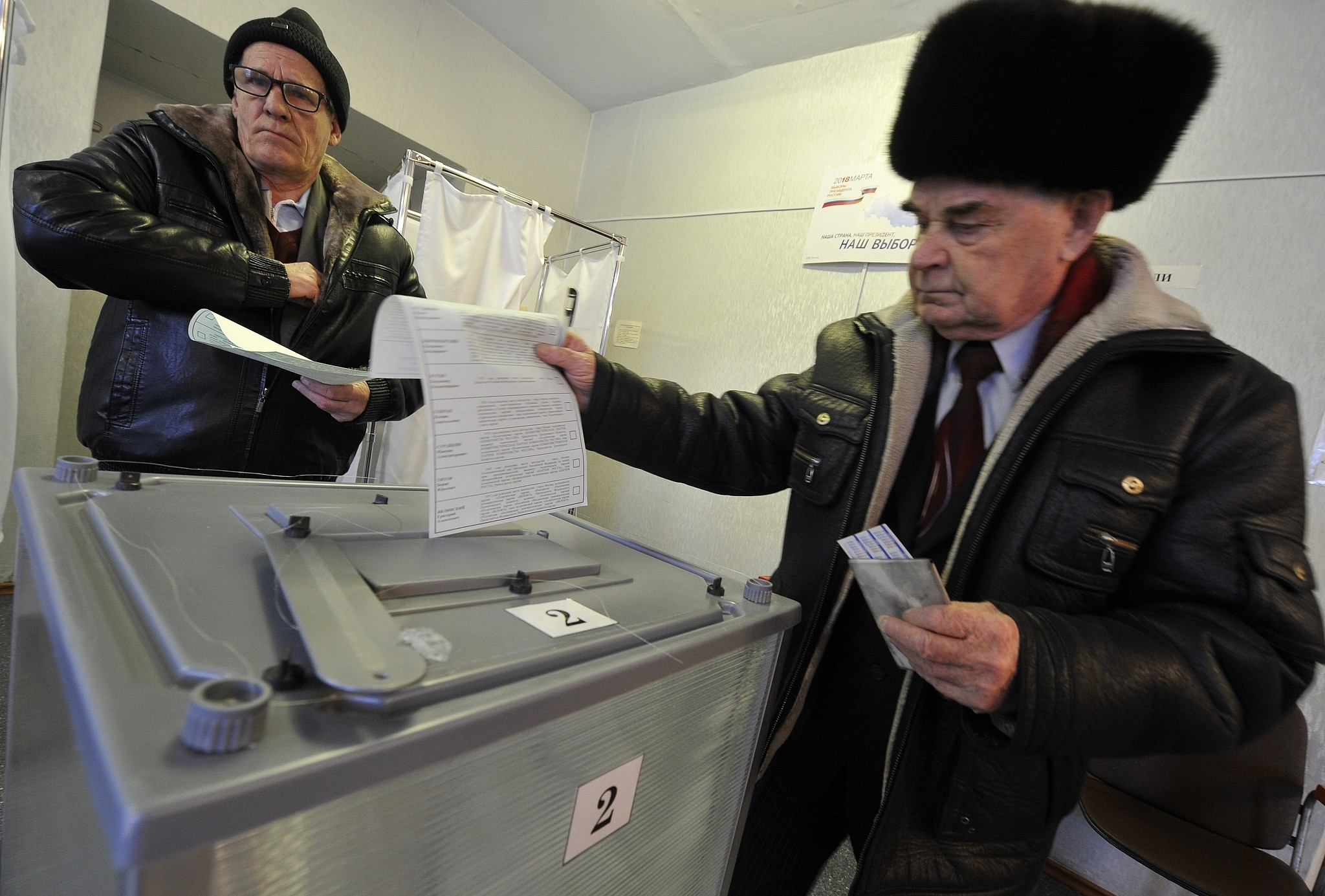 Russian Federation  voting today, Putin set to return for historic fourth term