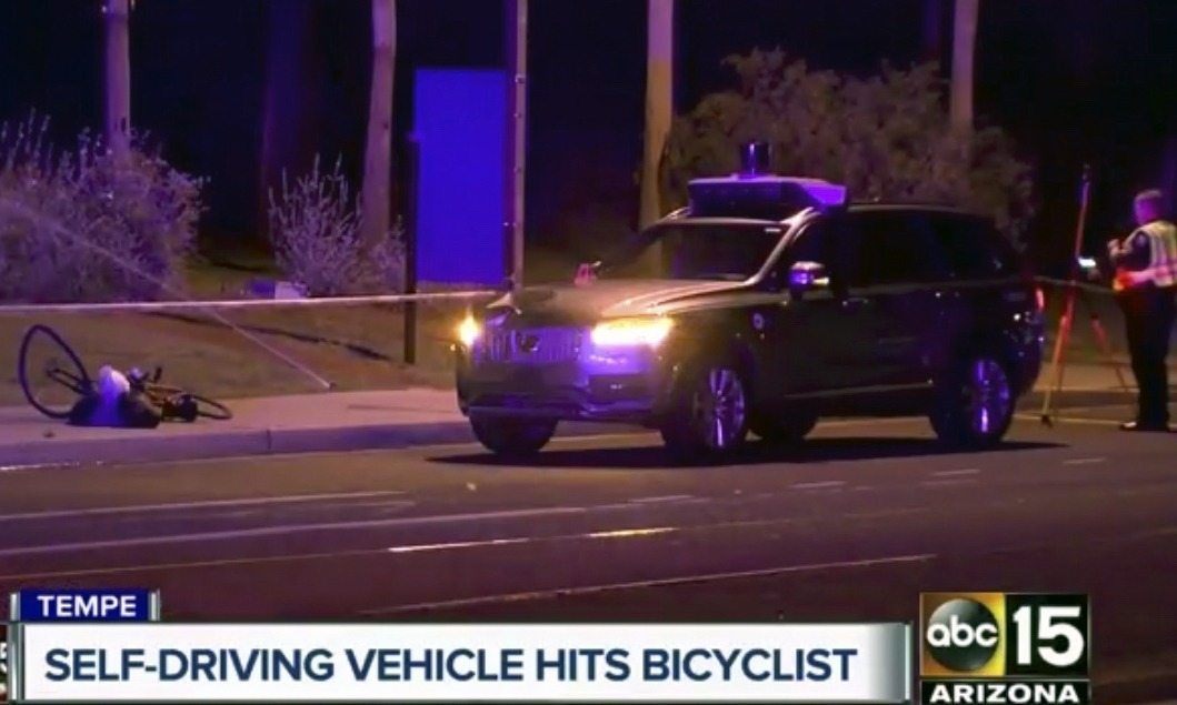 Arizona Governor Suspends Uber's Autonomous Program After Fatal Accident