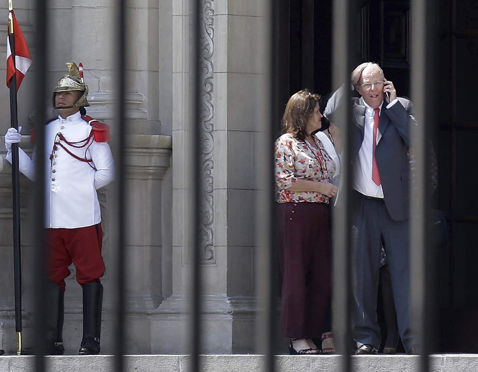 Peru president tenders resignation on eve of impeachment vote