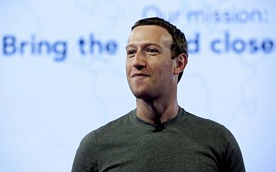 In this June 21, 2017, file photo, Facebook CEO Mark Zuckerberg speaks during preparation for the Facebook Communities Summit, in Chicago. (AP Photo/Nam Y. Huh, File)