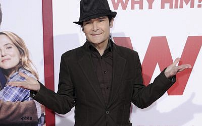 In this December 17, 2016, photo, Corey Feldman attends the world Premiere of 'Why Him?' in Los Angeles. (Richard Shotwell/Invision/AP, File)