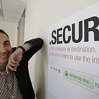 Facebook's chief of security Alex Stamos, June 8, 2012. (AP Photo/Eric Risberg)