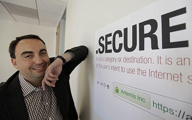 Facebook's chief of security Alex Stamos, June 8, 2012. (AP Photo/Eric Risberg)
