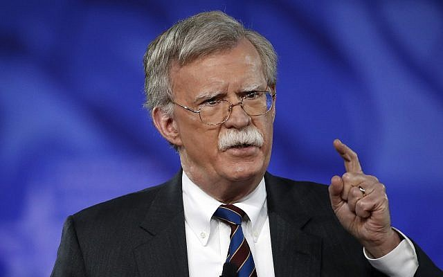 Former U.S. Ambassador to the UN John Bolton speaks at the Conservative Political Action Conference (CPAC), Friday, Feb. 24, 2017, in Oxon Hill, Md. (AP Photo/Alex Brandon)